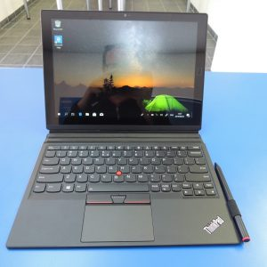 276 Lenovo Thinkpad X1 Tablet, Front side view, office
