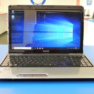 307 Toshiba Satellite L755, Front side view, office