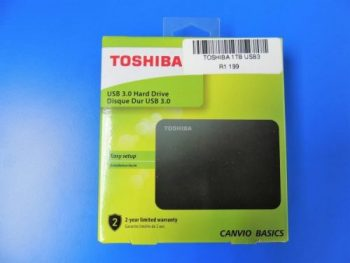 Toshiba 1TB Portable Hard Drive